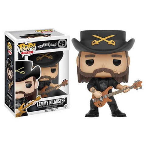 Motorhead - Lemmy Kilmister - Vinyl Figure - Licensed New In Box