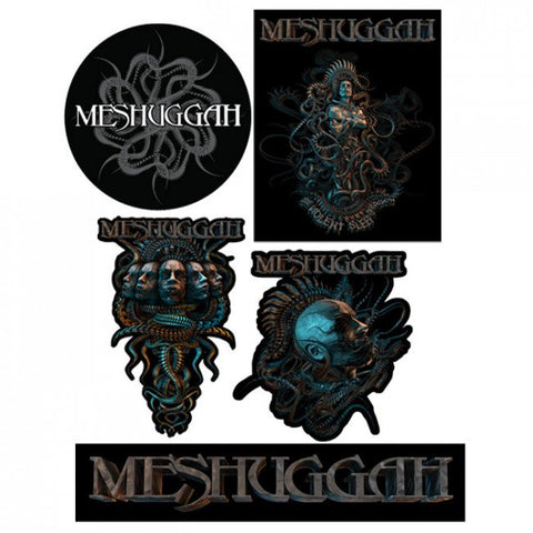 Meshuggah - 5 Sticker Set