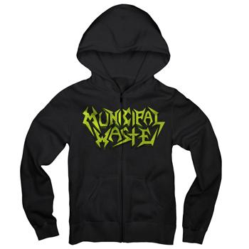 Municipal Waste - The Art Of Partying - Zip Hoodie