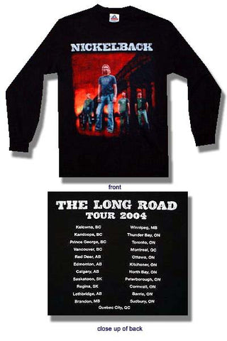 Nickelback - Bridge Longsleeve Shirt