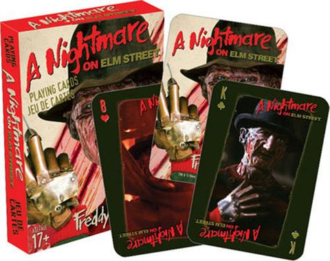 Nightmare On Elm Street - Playing Cards - Freddy Krueger