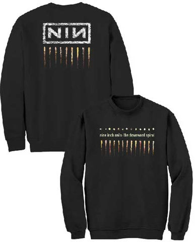Nine Inch Nails - Downward Spiral Crewneck Sweater