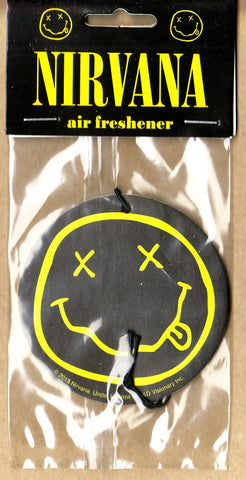 Nirvana - Smiley Face Air Freshener
