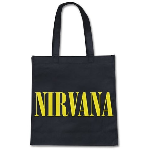 Nirvana - Tote Bag - UK Import - Smile-Collector's-Eco-Lightweight