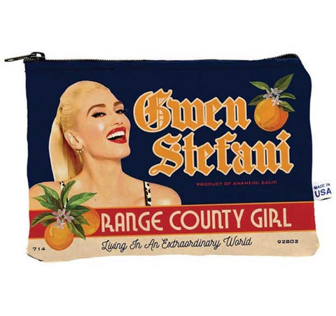 No Doubt - Gwen Stefani - Orange County - Make Up Bag