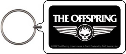 The Offspring - Skull Keychain
