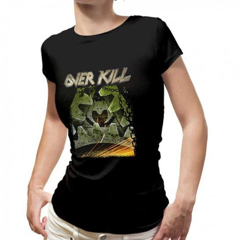 Overkill - Grinding Wheel Ladies Tee