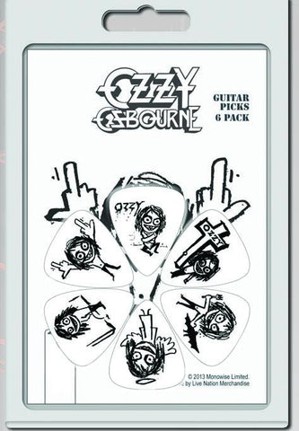 Ozzy Osbourne - Guitar Pick Set