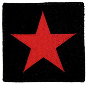 Red Star - Iron On Patch