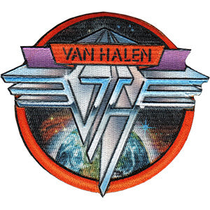 Van Halen - Space Logo Patch