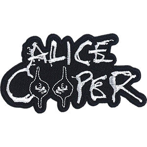 Alice Cooper - Logo With Eyes Patch