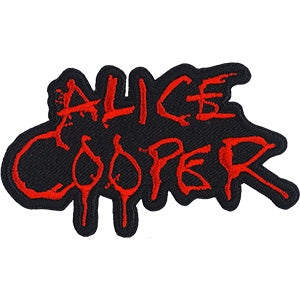 Alice Cooper - Red Logo Patch