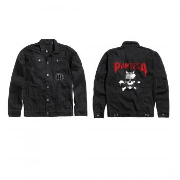 Pantera - Skull Logo Denim Jacket