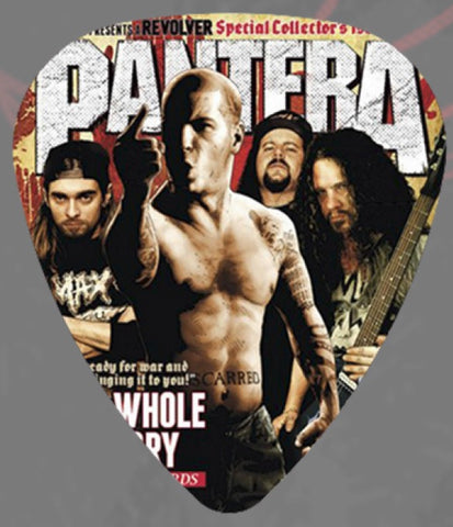 Pantera - Guitar Pick -Revolver-USA-Celluloid-Dimebag-Pack Of 2