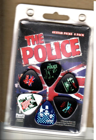 The Police - Guitar Pick Set