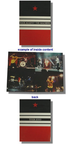 Rage Against The Machine - Tour Book