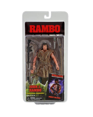 Rambo - First Blood (Survival Version) - Action Figure - Licensed - New In Pack