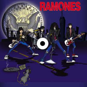 Ramones - Cartoon Magnet