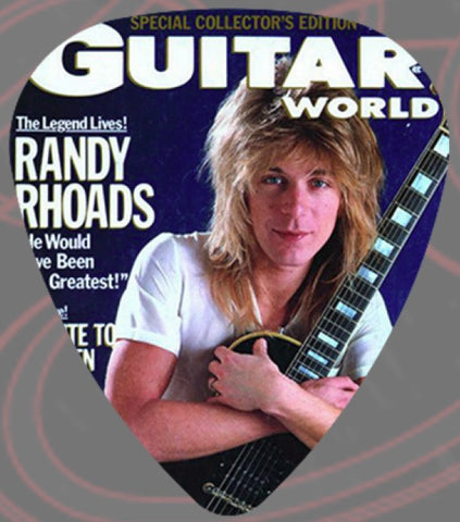 Randy Rhoads - Guitar Pick -Guitar World Ozzy-Quiet Riot- Pack Of 2