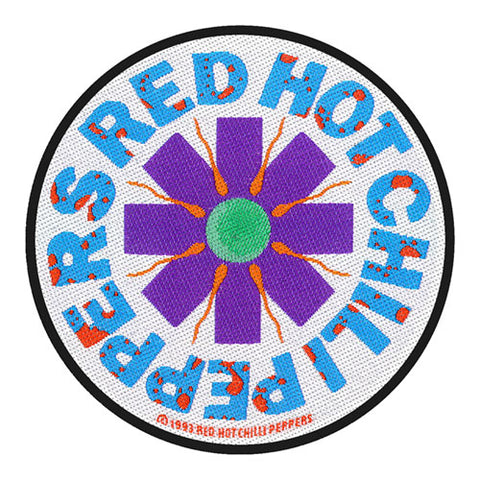 Red Hot Chili Peppers-Patch-Woven-UK Import-Aster-Collector's Patch-Licensed New