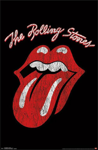 Rolling Stones - Poster - Tongue Logo