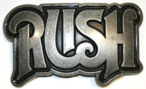 Rush - Logo Belt Buckle
