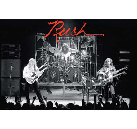 Rush - Poster - Live In Concert