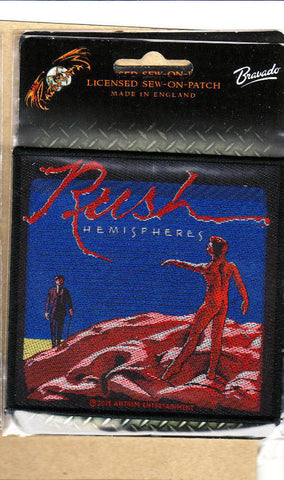 Rush - Patch - Woven - UK Import - Collector's Patch - Licensed New