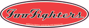 Foo Fighters - Glitter Logo - Sticker