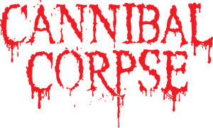 Cannibal Corpse - Logo Rub On - Sticker