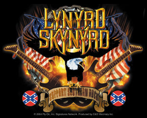 Lynyrd Skynyrd - Guitars & Eagle - Sticker