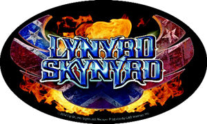 Lynyrd Skynyrd - Flaming Logo - Sticker