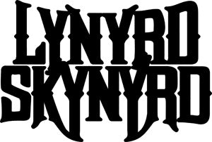 Lynyrd Skynyrd - Rub On Logo - Sticker