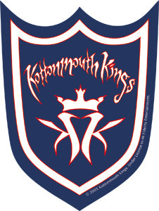 Kottonmouth Kings - Shield - Sticker