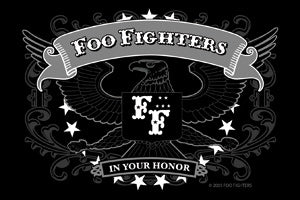 Foo Fighters - Eagle - Sticker