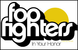 Foo Fighters - Honor Logo - Sticker