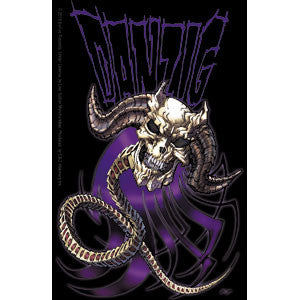 Danzig - Purple Demon Sticker