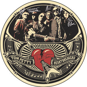Tom Petty - Band Sigs Sticker