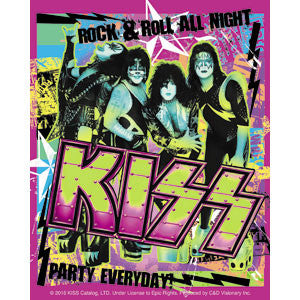 KISS - Party Sticker