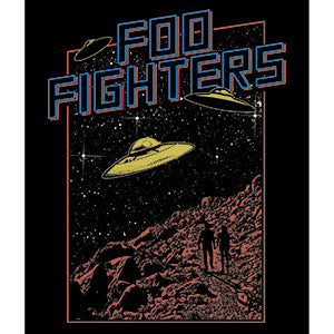 Foo Fighters - UFO Scene - Sticker