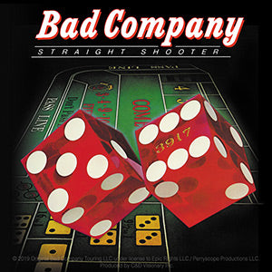 Bad Company - Straight Shooter - Sticker