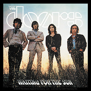 The Doors - Waiting For The Sun Album - Sticker