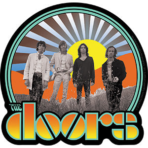 The Doors - Waiting For The Sun - Sticker