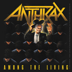 Anthrax - Among The Living - Sticker