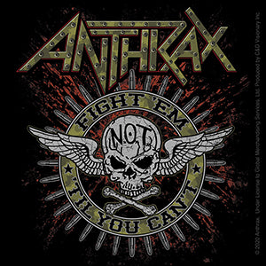 Anthrax - Military Circle - Sticker