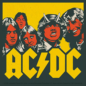 AC/DC - Highway To Hell Posterized - Sticker