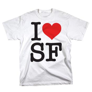 Senses Fail - I Heart SF - T-Shirt