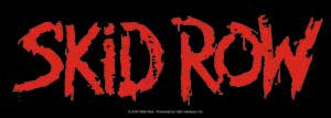 Skid Row - Logo Sticker