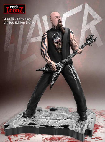 Slayer - Statue -Kerry King- Only 1,000 Made-COA-Hand Painted
