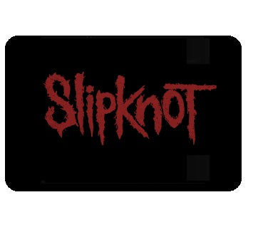 Slipknot - Red Logo - Mouse Pad